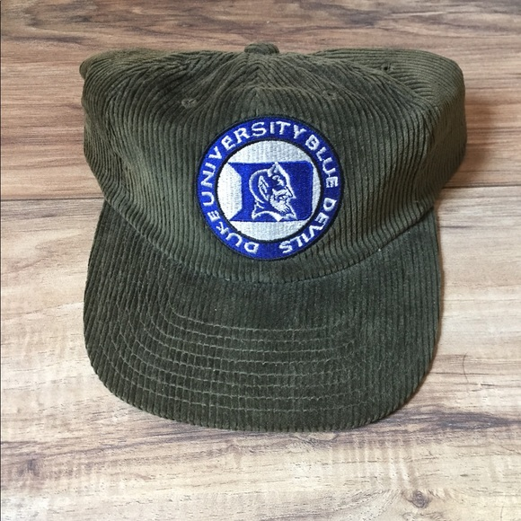 New duke university vintage hat